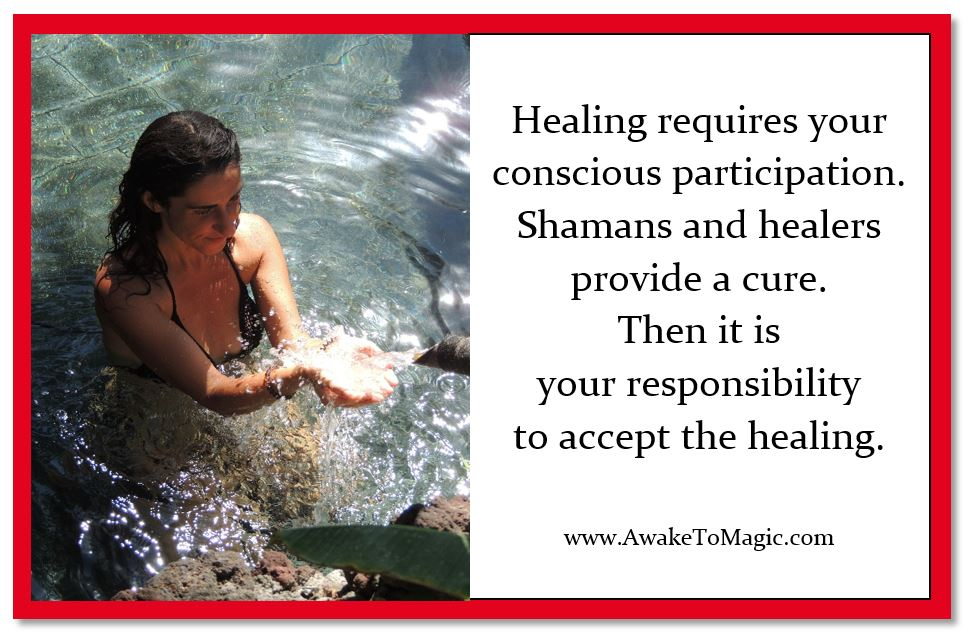 The shamanic way of healing