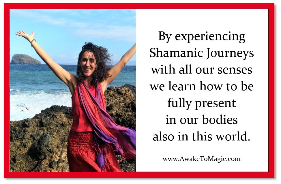 How do we experience a Shamanic Journey?